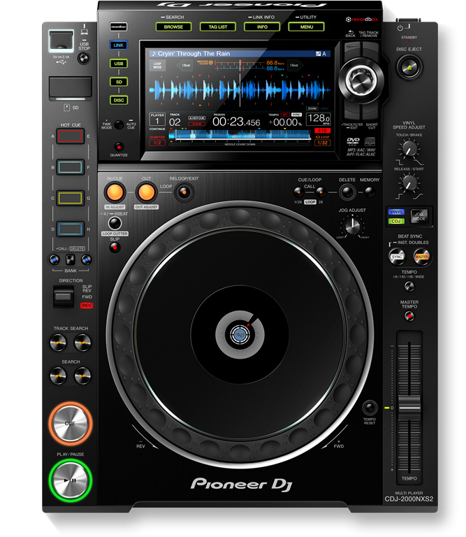 CDJ2000NXS2 - Pioneer - Quartz Audio - Location Son - Lille